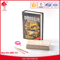 Education kids science projects experiments dig dinosaur games