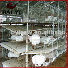 Easy Clean Rabbit Battery Cage