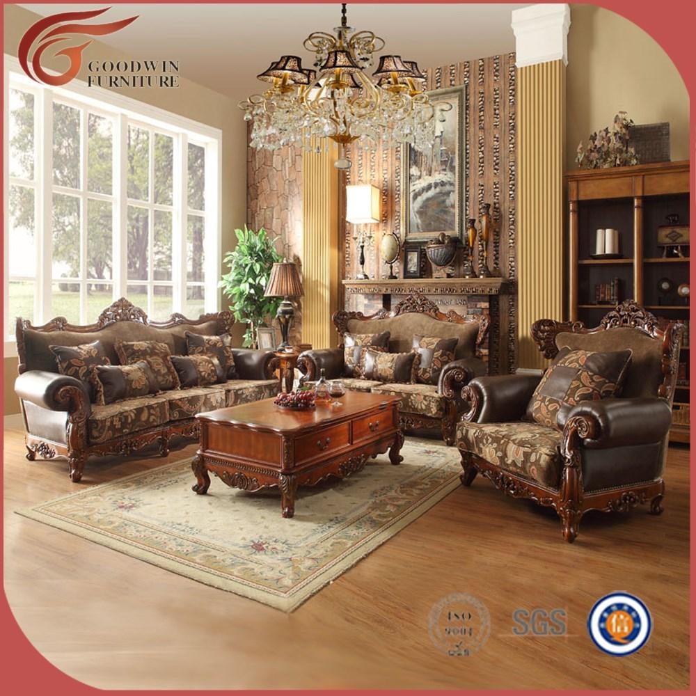 ... woonkamer meubels, luxe sofa set, franse stijl klassieke woonkamer