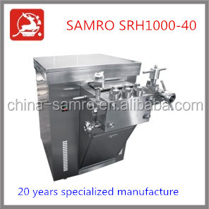 direct manufacture 1000L/H 40 Mpa homogenization method