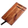 Acacia wooden cheese Board with cheese knife