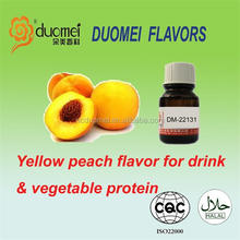 Yellow peach drink&vegetable protein beverage food flavors/flavours/essences