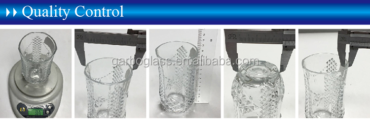 Hot Selling 14oz Good Quality Vintage Glass Globlet Wine Cup