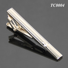 Hot Selling Simple Crystal High Quality Tie Bar Unique Men's Tie Clip Blank