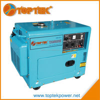 5kva cheap price home use small soundproof diesel generator