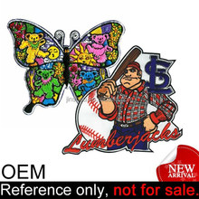 OEM Nice Custom Polyester Patches Jobs Service Embroidery Digitizing