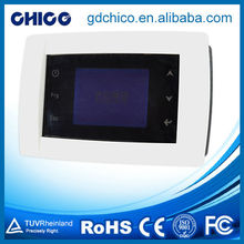 CCXK0003 Dot matrix touch screen manual reset thermostat