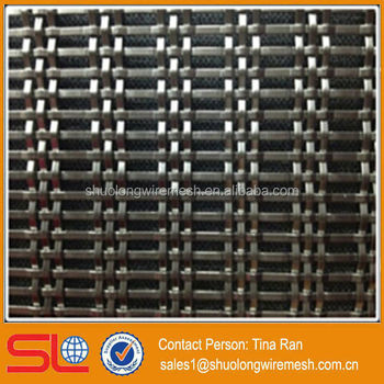 Hebei Shuolong BV Certificate Maufactory Project Use metal stainless steel decorative mesh XY-3185B