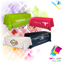 customized logo printed fancy table cover