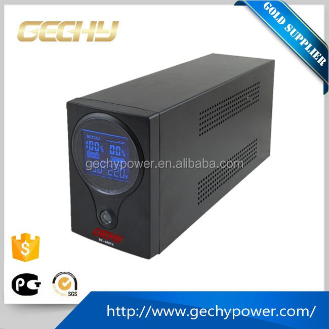 Be series mini 600va on line type UPS uninterruptible Power Supply with 1 hour backup