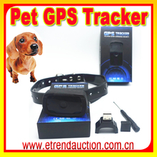 Small waterproof Dog GPS With Dog Collar Tracking Quad GSM band GPS Car/human/Pet Tracker