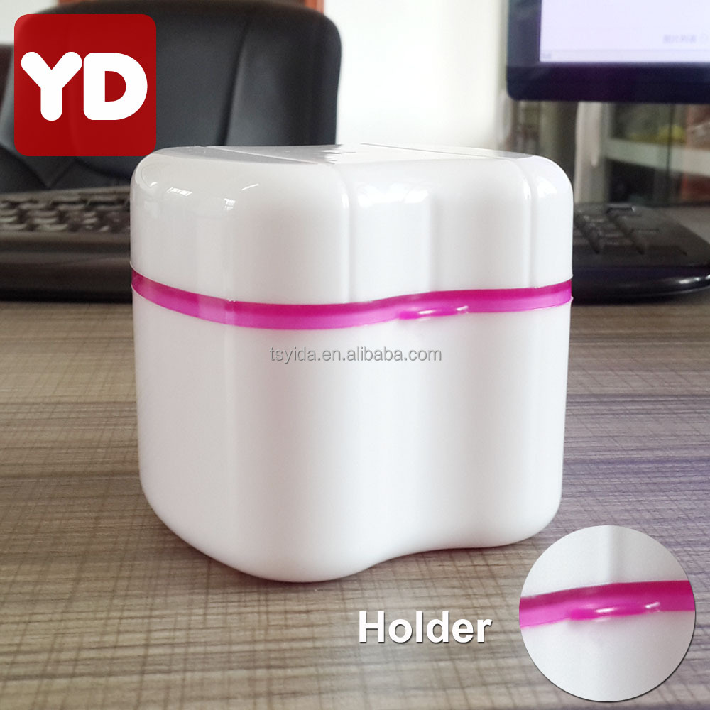 OEM Accepted Wholesale Denture Holder Box Denture Bath Pink