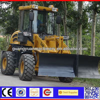 Latest joystick control wheel loader ZL16F with V-type snow blade