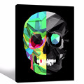 Abstract Skull Canvas Art/Unique Wall Picture for Inner Room Wall Decor/Dropship Canvas Paintings