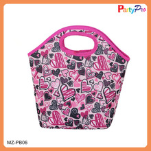 2014 Hot Selling Insulated Thermal Food Carry Custom Made Neoprene Lunch Bag