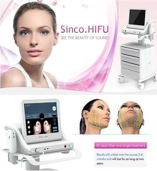 Sincoheren hifu Anti-Puffiness,Skin Tightening,Wrinkle Remover Feature hifu face lift