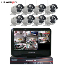 LSVISION 8ch 960P Network Rohs Wireless Home NVR Camera Kit