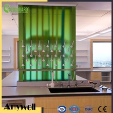 Amywell CE certificate matte surface hpl chemical bench worktop