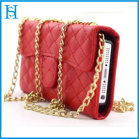 Fashion Case for Girl,3 Fold Wallet Leather Pouch Bag Case For iPhone 5/iPhone 6/iPhone 6 plus 5.5inch