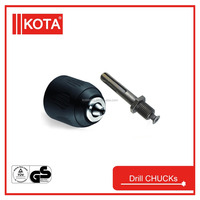 Keyless Drill Chuck With Safety Lock