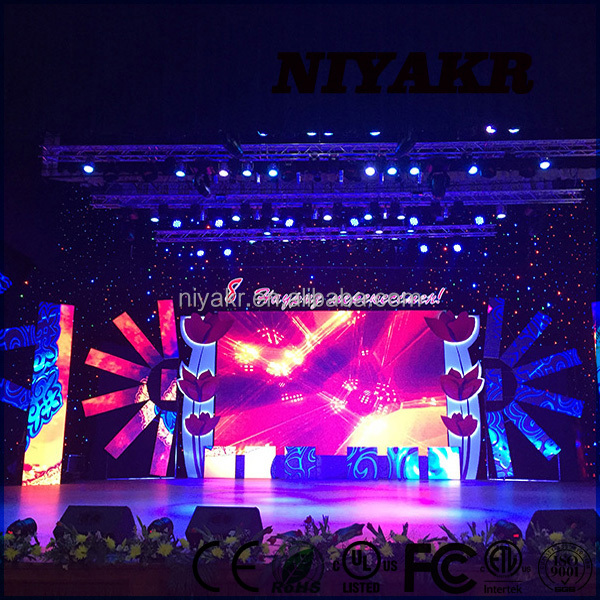 Niyakr Top Ten LED Manufacturers 2015 New Product Hd Indoor Smd Xxx Movie Xxxxx Video Led Screen