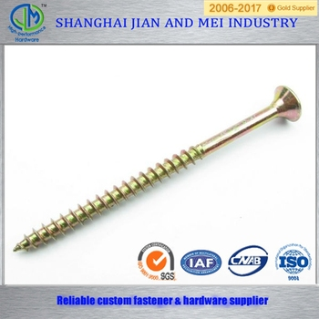 Nice quality clips chipboard screw/ coarse thread