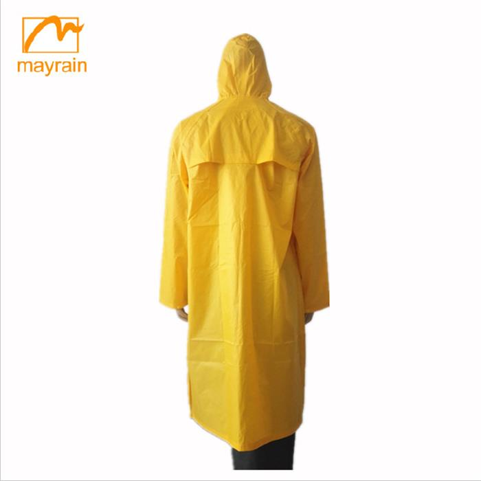 Fashion Long Rain Coat Jacket For men Clothes