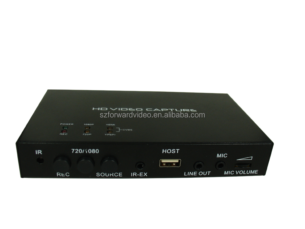 capture up to 1080P video from HDMI Ypbpr or composite port such as blue ray settopbox game box VHS EZCACAP283