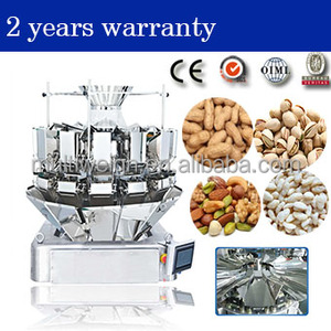 14 Heads automatic combination multihead weigher for weighing packaging machine for peanuts