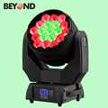 panel led 19X15W 4in1 rgbw led zoom moving lighting for party wedding