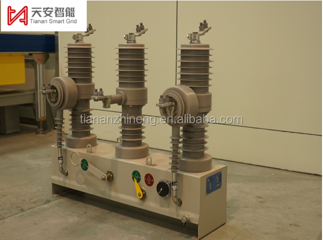 12 kv Smart Outdoors high Voltage Vacuum Circuit Breaker applied in the electric industry for the overseas market