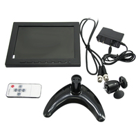 "YWX-808HD Super 8""TFT-LED CCTV Rubber Cover Monitor High Resolution w/ Collapsible Bracket Portable Flexible"