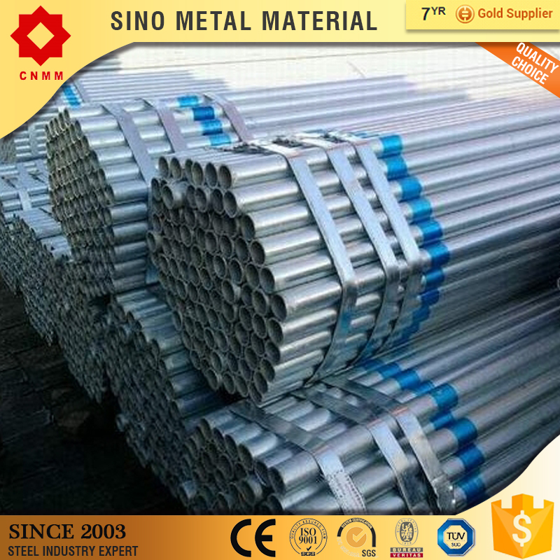 different size carbon steel weld/seamless hot dipped pipe and tube