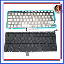 "Brand NEW 13.3"" Laptop SP Spanish Keyboard & Backlight For Macbook Pro Uniboy A1278 MC700 MB990 MB466"