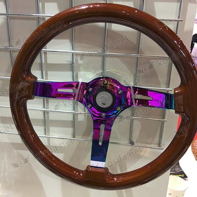 Ls1 Intake Bolt Pattern: Neo Chrome Spoke 350mm Wood Steering Wheel