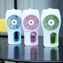 Portable outdoor Mini handhold electric water spray mist fan, USB mini fan