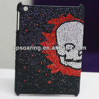 for mini ipad cool skull bling bling case back cover
