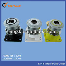 New style of DIN standard medical gas outlets