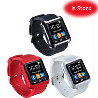 Free sample wholesale ce rohs stock cheap colorful U8 GT08 DZ09 A1 M26 smart watch phone for ios android