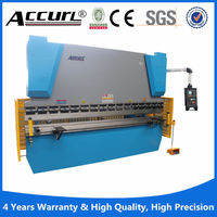 NC Hydraulic Folding Machine flat bar angle bending machine