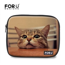 Lazy cat neoprene feminine laptop sleeve for ipad mini