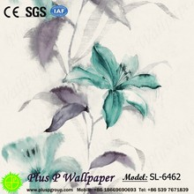 Plus P Damask Classic Hotel Room Wallpaper Suppliers in China