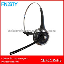 2014 hot selling and favourite mono gaming headphone bluetooth stereo for speach no music