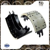 Auto brake shoe spare parts brake shoe for hino heavy duty truck