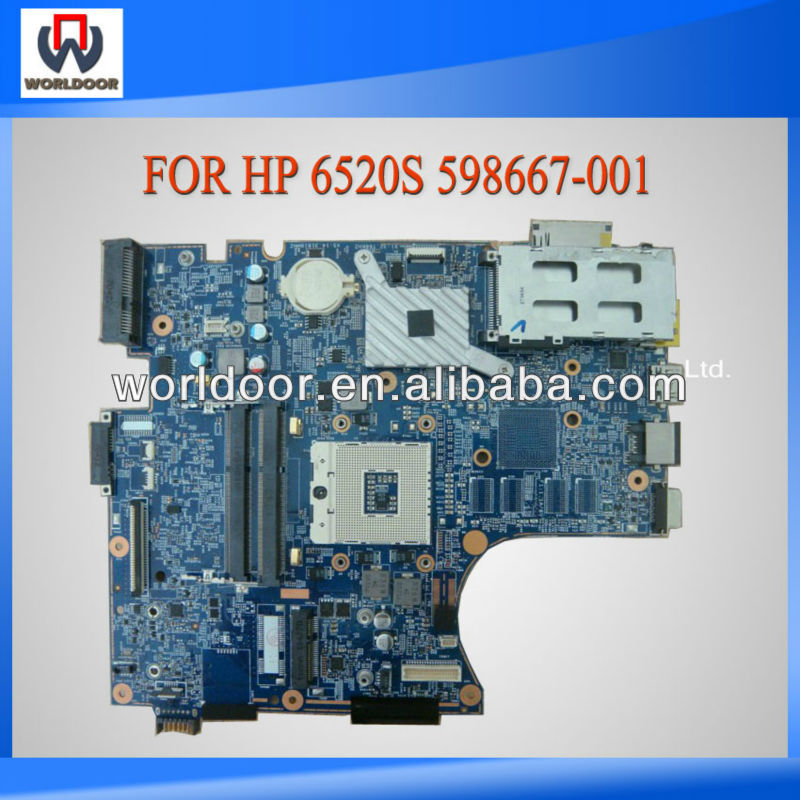 High Quality 598667-001 For HP 6520S Laptop Motherboard