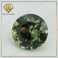 Rare gems wholesale color 149# round diamond cut 25mm synthetic spinel