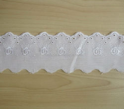 Bottom price best sell france bridal embroidery lace