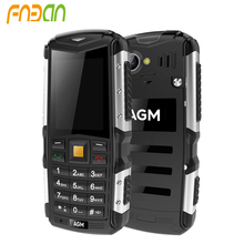 Hot selling AGM M1 IP68 Waterproof Rugged Phone 2.0 Inch Dual Sim Card 3G Mobile Phone