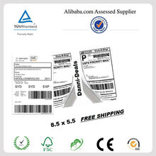 2014 High quality return address labels with cheap price