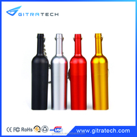 1 dollars wine bottle different color of metal pen drive bulk buy from china